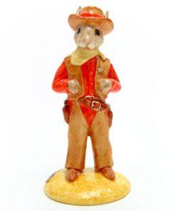 Cowboy DB201 - Royal Doulton Bunnykins