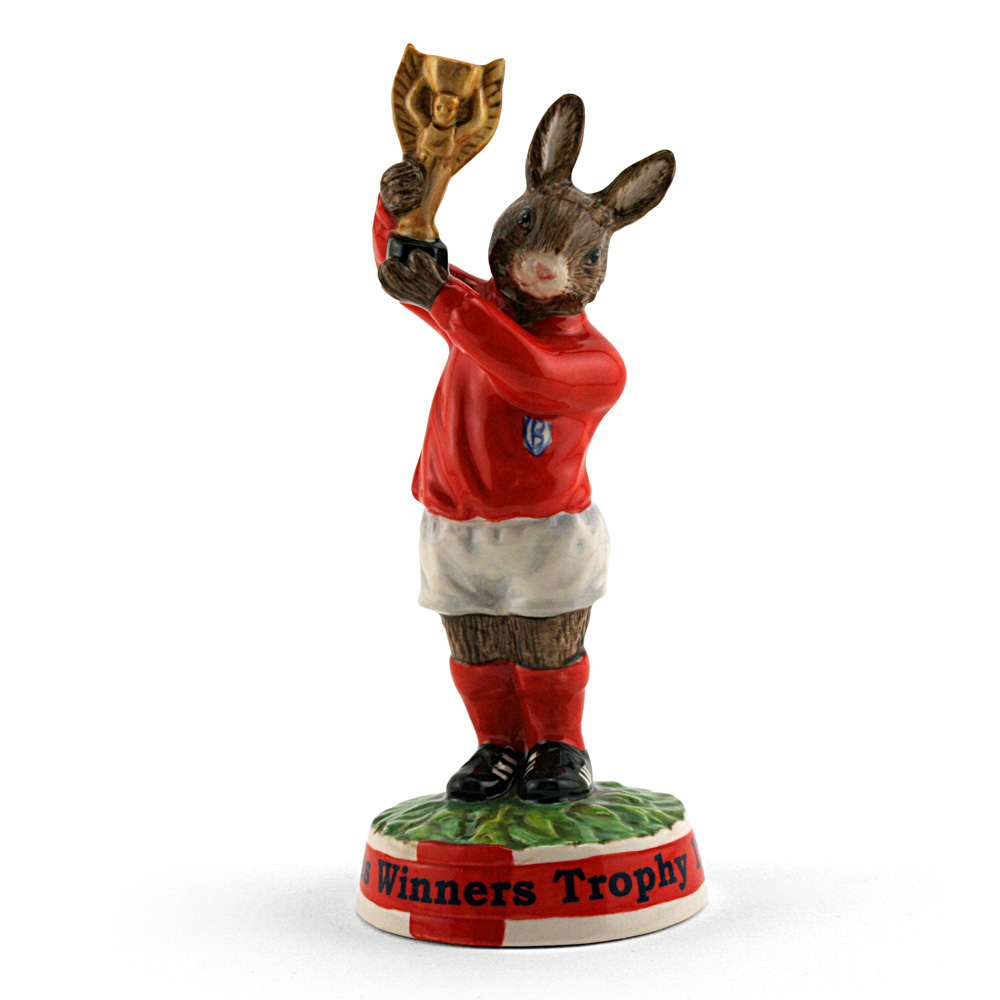 Cup Winner's Trophy 1966 DB410 - Royal Doulton Bunnykins