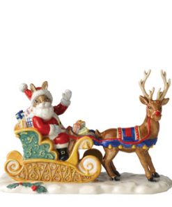 Dashing Through the Snow DB422 - Royal Doulton Bunnykins