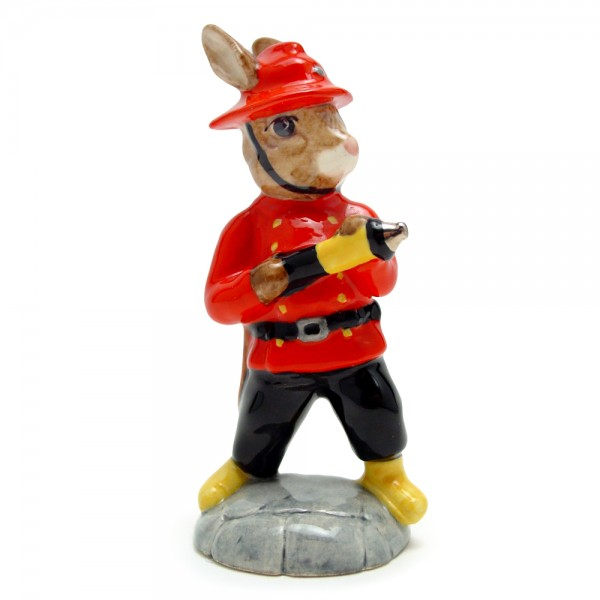 Fireman Bunnykins DB183 - Royal Doulton Bunnykins