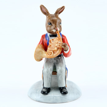 French Horn Player DB395 - Royal Doulton Bunnykins