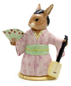 Geisha Girl Teapot D7126 - Royal Doulton Bunnykins
