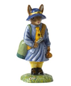 Girl Guide DB431 - Royal Doulton Bunnykins