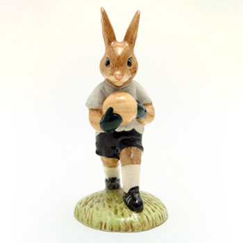 Goalkeeper DB122 - Royal Doulton Bunnykins