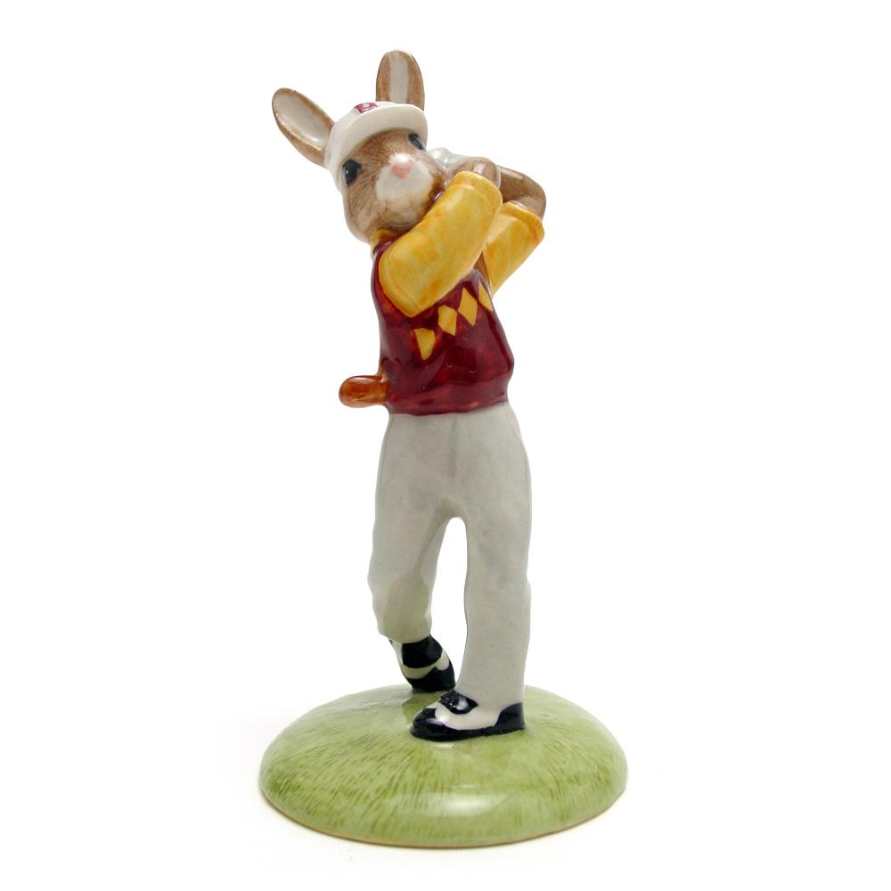 Golfer DB255 - Royal Doulton Bunnykins