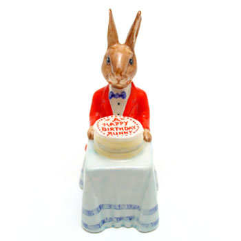Happy Birthday DB21 - Royal Doulton Bunnykins