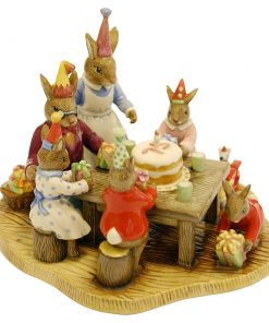 Happy Birthday Tableaux DB478 - Royal Doulton Bunnykins