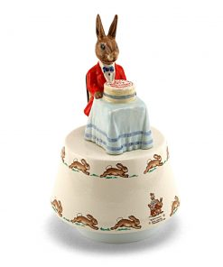 Happy Birthday Music Box DB36 - Royal Doulton Bunnykins