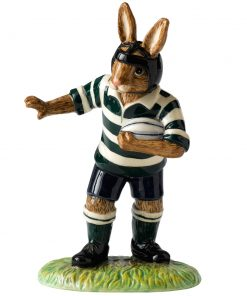 Heading For A Try DB449 - Royal Doulton Bunnykins