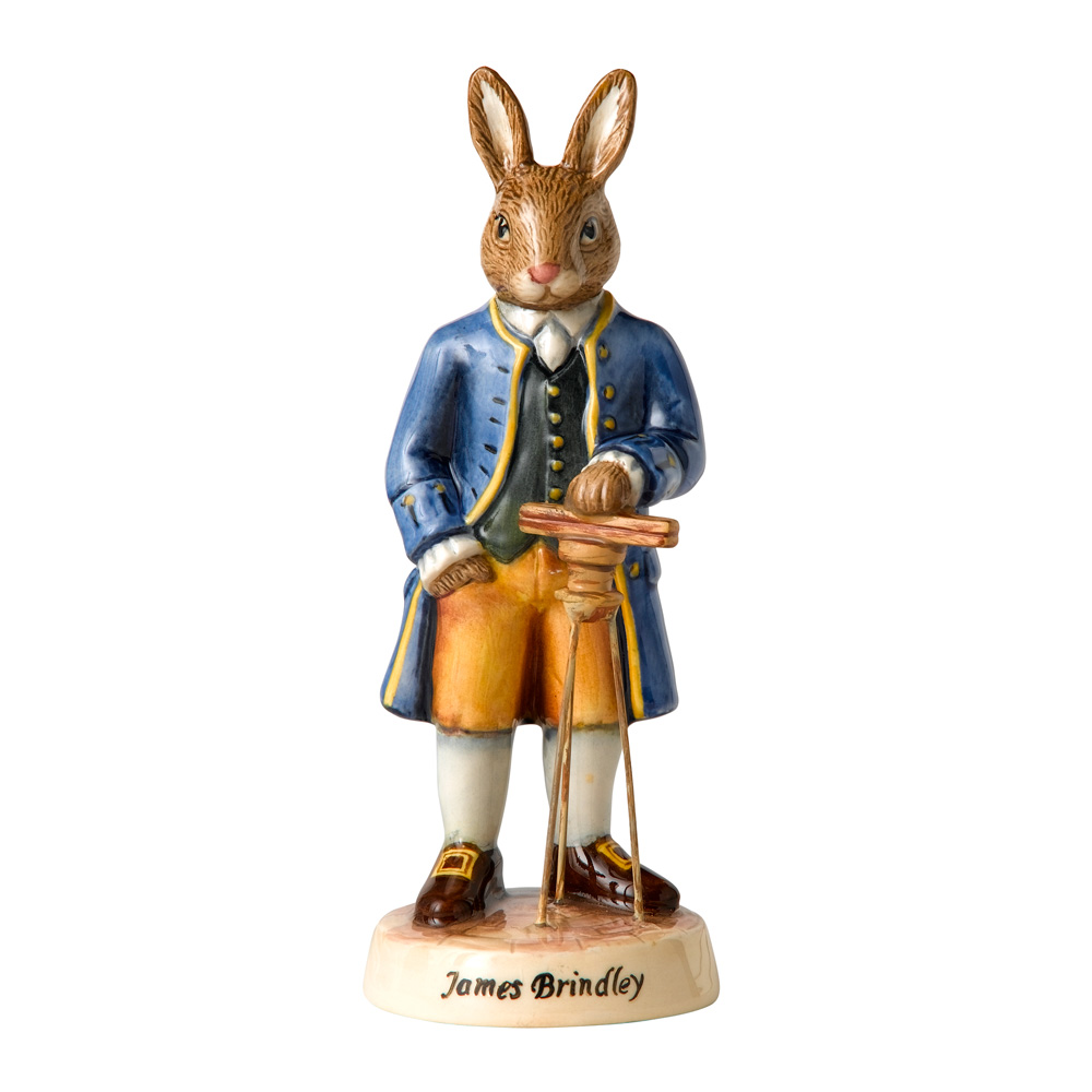 James Brindley DB438 - Royal Doulton Bunnykins