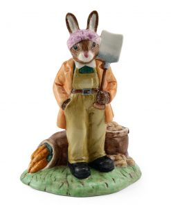 Land Girl DB372 - Royal Doulton Bunnykins