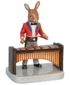 Marimba Player DB392 - Royal Doulton Bunnykins