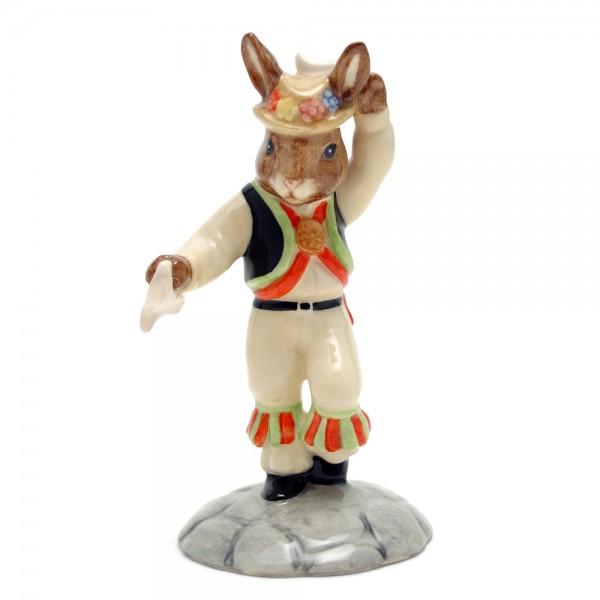 Morris Dancer DB204 - Royal Doulton Bunnykins
