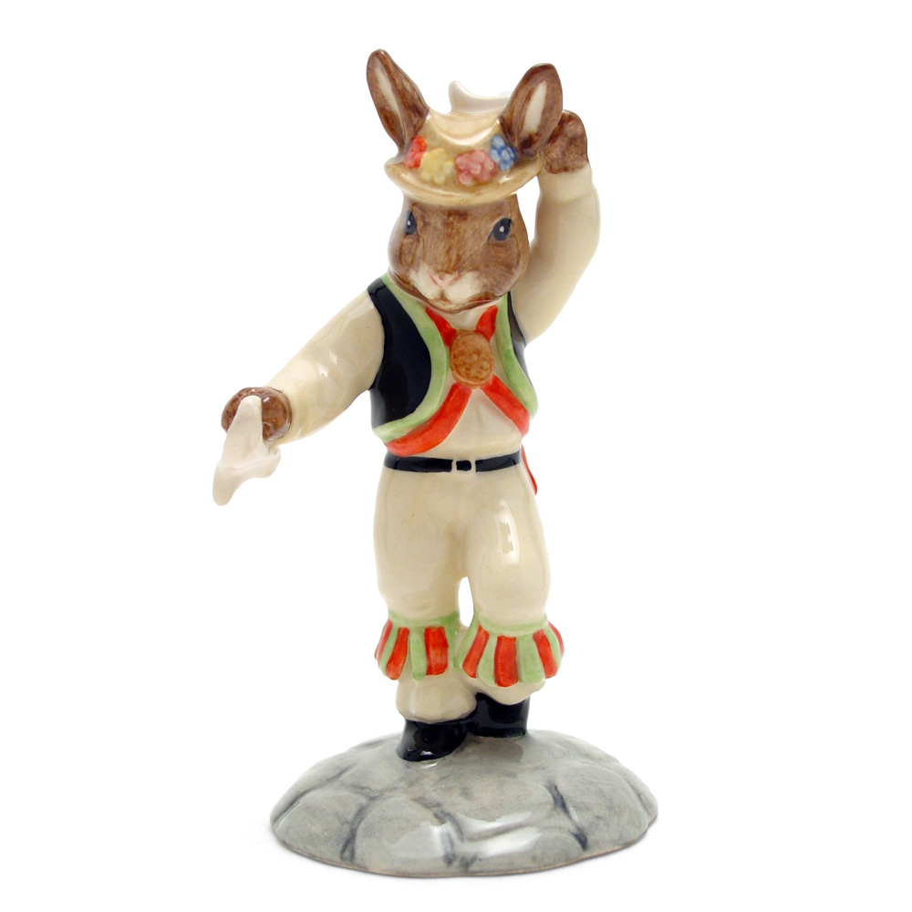 Morris Dancer DB204 - Royal Doulton Bunnykins