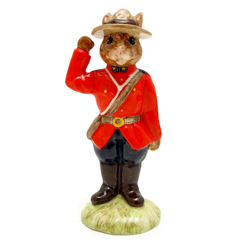 Mountie DB135 - Royal Doulton Bunnykins