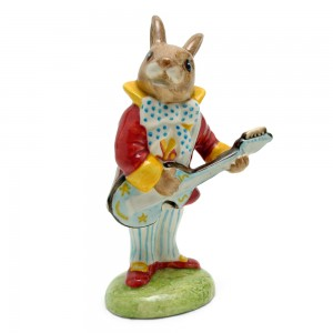 Mr. Bunnybeat Strumming DB16 - Royal Doulton Bunnykins
