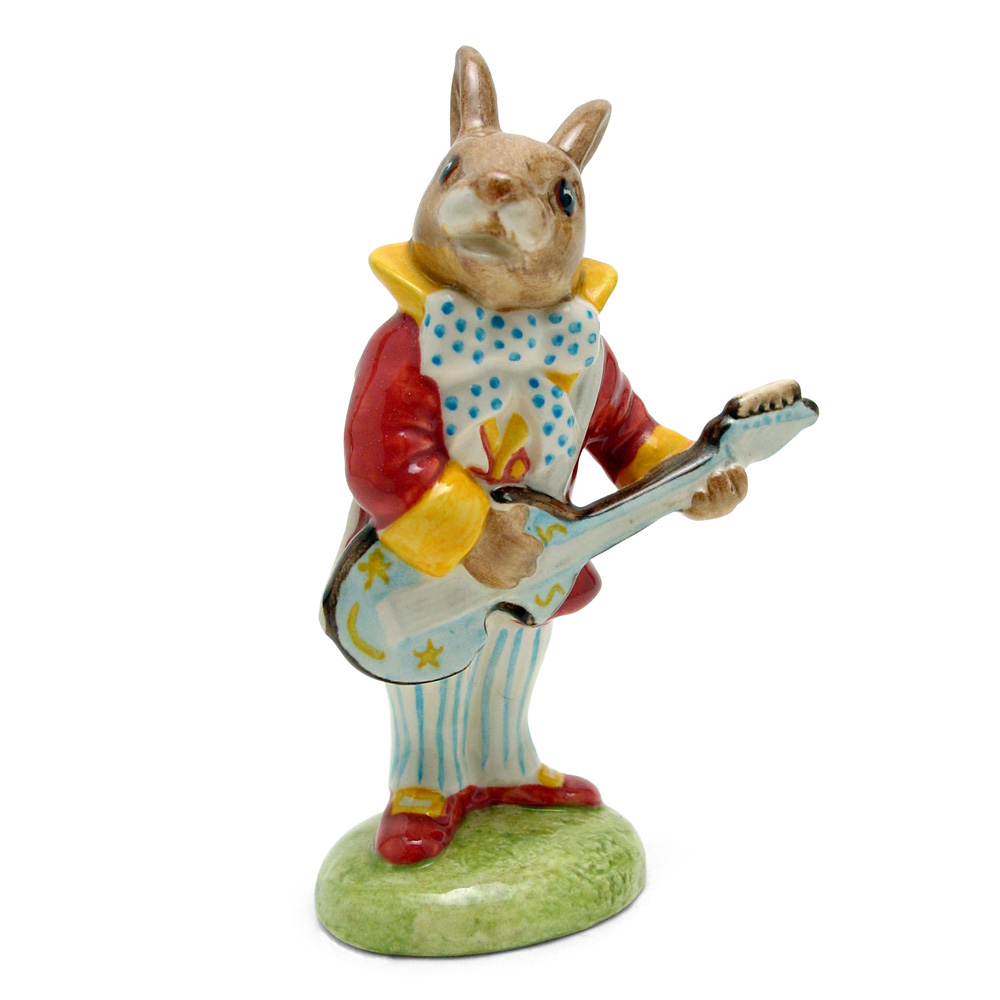 Mr. Bunnybeat Strumming DB16 - Royal Doulton Bunnykins