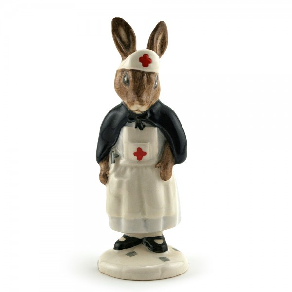 Nurse with Red Cross DB74 - Royal Doulton Bunnykins