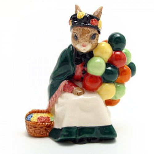 Old Balloon Seller DB217 - Royal Doulton Bunnykins