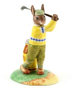 On the Fairway DB427 - Royal Doulton Bunnykins