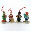 Holiday Ornaments (Set A) - Royal Doulton Bunnykins