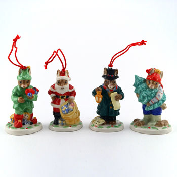 Holiday Ornaments (Set A) - Royal Doulton Bunnykins