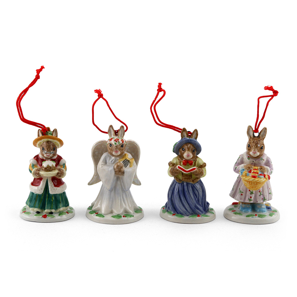 Holiday Ornaments (Set B) - Royal Doulton Bunnykins