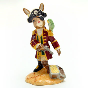 Pirate Bunnykins DB321 - Royal Doulton Bunnykins