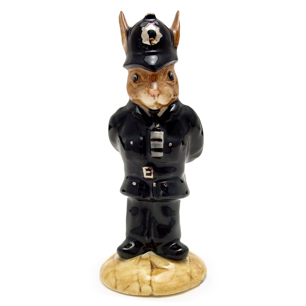 Policeman DB64 - Royal Doulton Bunnykins