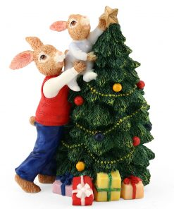 Resin Father Harry Tree DBR12 - Royal Doulton Bunnykins