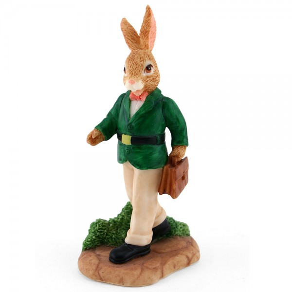 Resin Father Home From WorkDBR8 - Royal Doulton Bunnykins