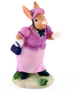 Resin Lady Ratley DBR6 - Royal Doulton Bunnykins