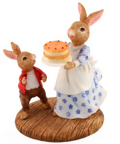 Resin Mrs Bunnykins & Will DBR13 - Royal Doulton Bunnykins