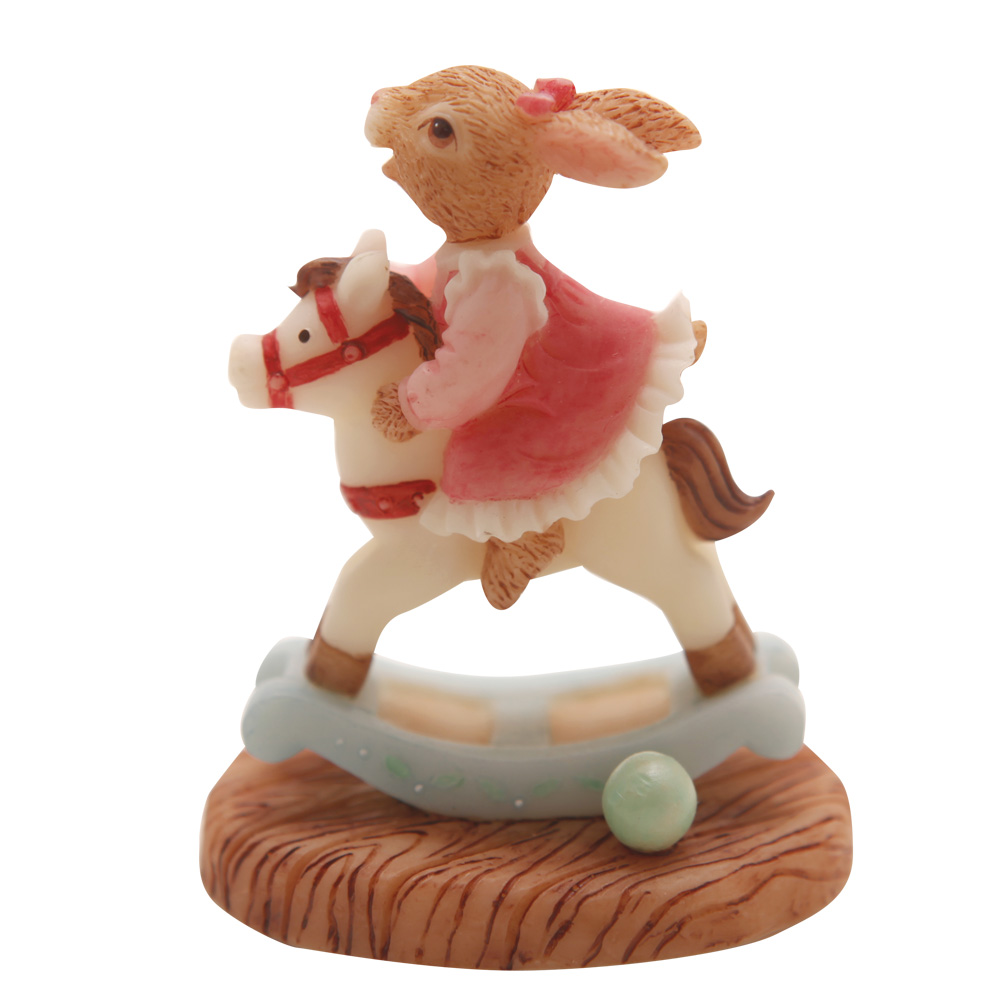 Resin Rocking Horse DBR19 - Royal Doulton Bunnykins