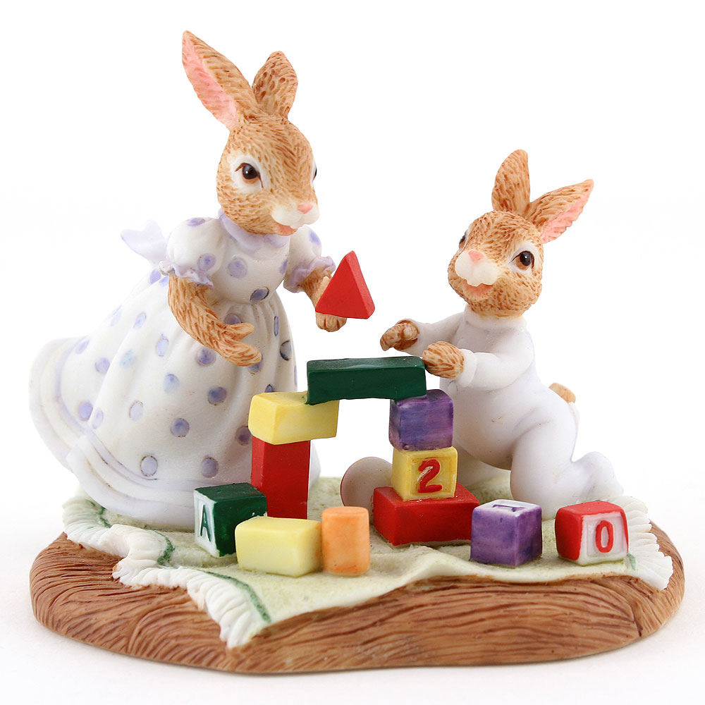 Resin Susan and Harry DBR11 - Royal Doulton Bunnykins