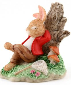 Resin William Asleep DBR5 - Royal Doulton Bunnykins