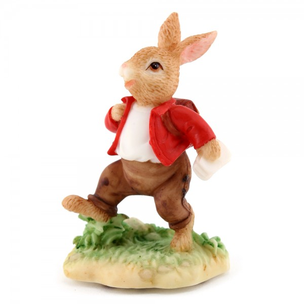 Resin William In A Hurry DBR9 - Royal Doulton Bunnykins