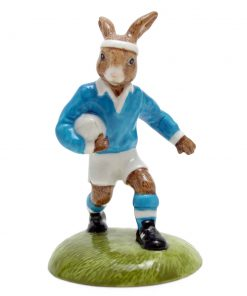 Rugby Player DB318 - Royal Doulton Bunnykins