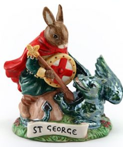 Saint George DB398 - Royal Doulton Bunnykins
