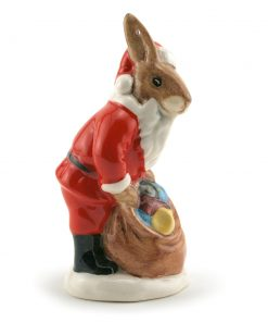 Santa ''Happy Christmas'' Ornament DB62 - Royal Doulton Bunnykins