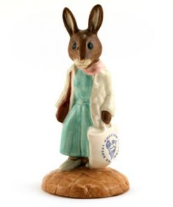 Shopper Bunnykins DB233 - Royal Doulton Bunnykins