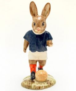 Soccer Player Bunnykins DB123 - Royal Doulton Bunnykins