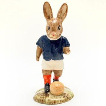 Soccer Player Bunnykins DB123 - Royal Doulton Bunnykins