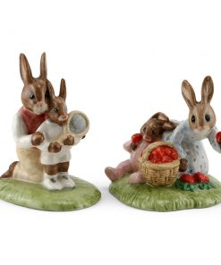 Tennis DB278 & Strawberries DB277 - Royal Doulton Bunnykins