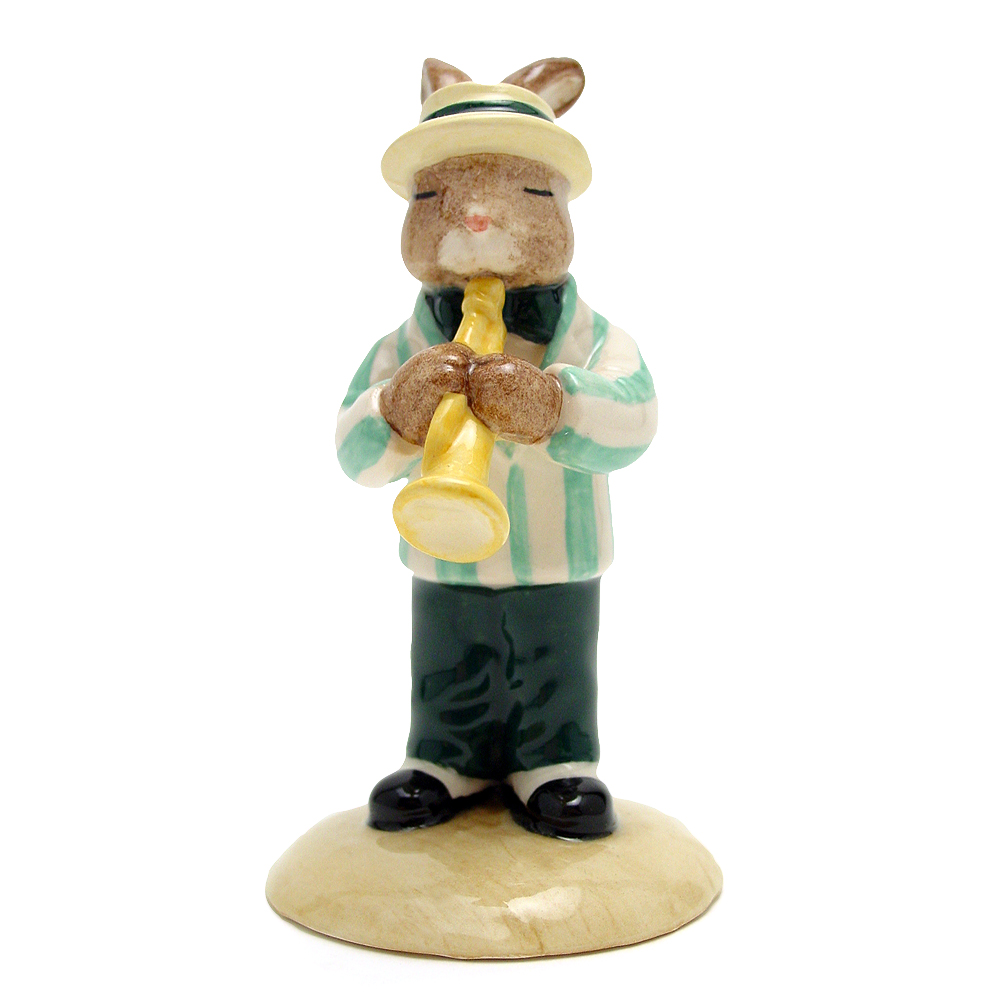 Trumpet Player DB210 - Royal Doulton Bunnykins