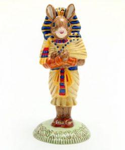 Tutankhamun Bunnykins DB296 - Royal Doulton Bunnykins