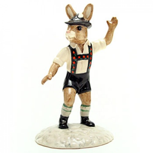 Tyrolean Dancer DB242 - Royal Doulton Bunnykins