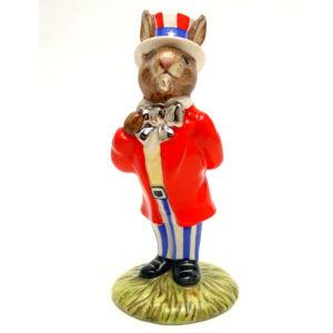 Uncle Sam DB175 - Royal Doulton Bunnykins