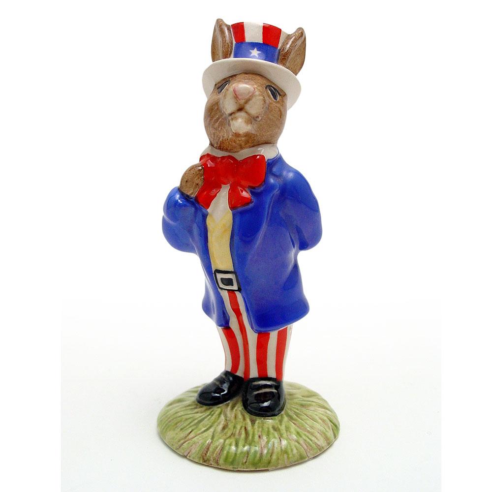 Uncle Sam DB50 - Royal Doulton Bunnykins