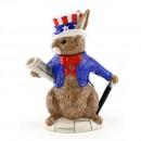 Uncle Sam Teapot D6996 - Royal Doulton Bunnykins